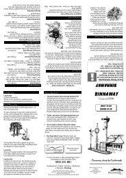 Binnaway Village Brochure OP A3 2 - Warrumbungle Region