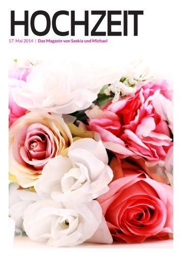 Ja-Worte Hochzeitszeitung: HOCHZEIT von Saskia und Michael