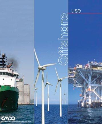 Offshore use - Pfaff-silberblau