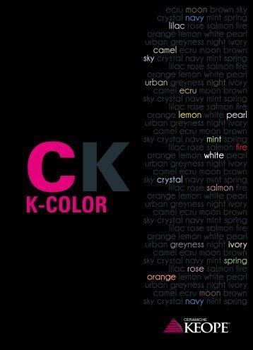 K-Color catalog - Ceramiche KEOPE
