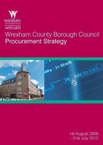 Wrexham County Borough Council Procurement Strategy