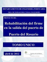 Rehabilitación del firme en la salida del puerto de Puerto del Rosario