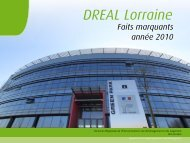 rapport_activites_DREAL - DREAL Lorraine - Ministère du ...