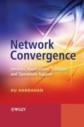 Network Convergence Services, Applications, Transport, and ...
