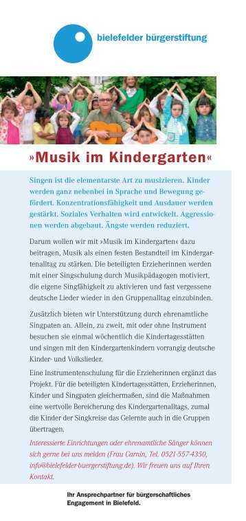 MUK-Flyer (PDF) - Bielefelder Bürgerstiftung