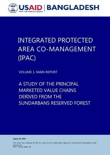 INTEGRATED PROTECTED AREA CO-MANAGEMENT (IPAC) - BIDS