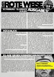 DERROTE WEISE - Wilde Jungs Freiburg