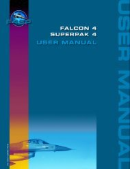Falcon 4 SuperPAK 4 - USER'S MANUAL - Parent Directory
