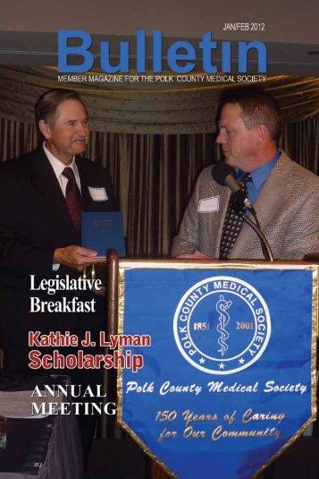 PDF Version - Polk County Medical Society
