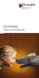 Broschüre - Generaldirektion Kulturelles Erbe Rheinland-Pfalz