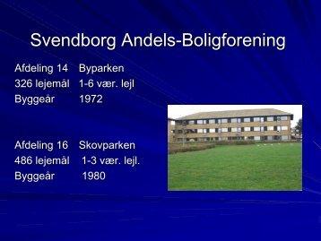 Oplæg ved Bente Kjær, Beboerkonsulent, Svendborg & Søren ...