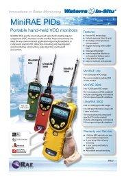 MiniRAE PID Detectors - Waterra-In-Situ