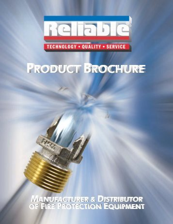 Full Line 061411_Full line Brochure - Reliable Automatic Sprinkler Co.