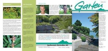 Die Gartenzeitung Herbst 2012 - Spaltenstein Gartenbau AG
