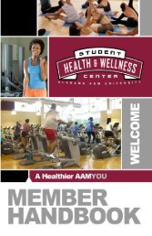 Membership Handbook - Alabama A&M University