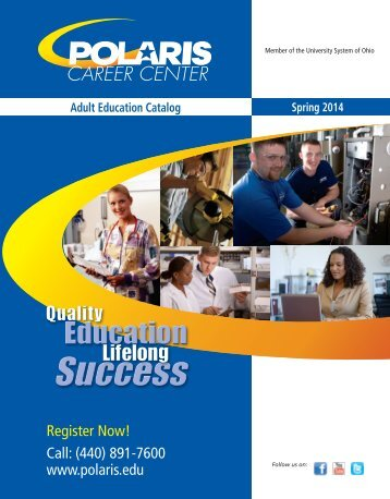 Polaris-Adult-Education-Spring-2014-Catalog