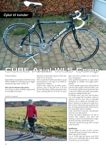 CUBE Axial WLS Comp - Cykel-Motion Danmark