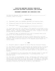 Sample Contract - Physicians Manpower Training Commission ...