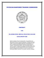 PHYSICIAN MANPOWER TRAINING COMMISSION - Physicians ...