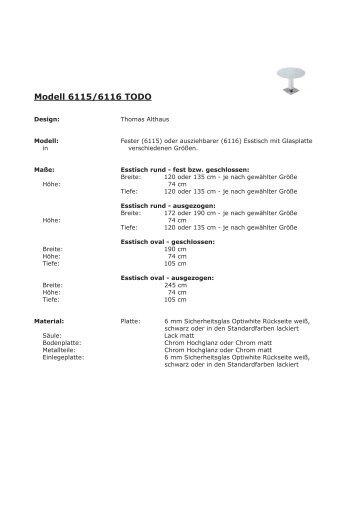 6115+6116 TODO Glas.indd - dieter horn