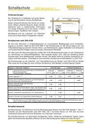 Scha allsch hutz - DW Systembau GmbH