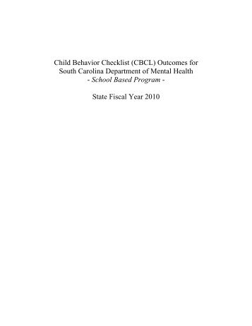 the child behavior checklist essay By patty schaefer & abbi burris child behavior checklist (cbcl) assessment taking a closer look at the cbcl overview the cbcl is an assessment that measures a wide variety of emotional and behavioral problems in children history achenbach studied problematic behaviors in children and.