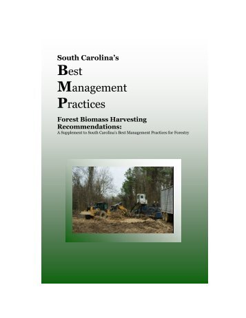 Best Management Practices: Forest Biomass Harvesting ...