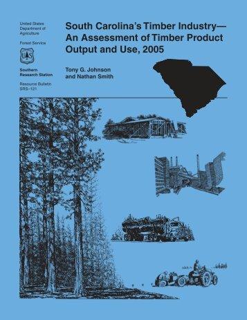 South Carolina's Timber Product Output and Use