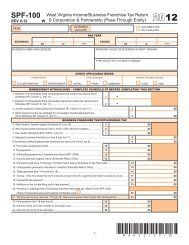 Income / Business Franchise Tax Forms for S Corporations and ...