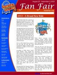 2013—A Brand New Ride - Nebraska State Fair