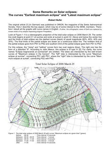 """The curves """"Earliest maximum eclipse"""" and """"Latest maximum eclipse"""""""