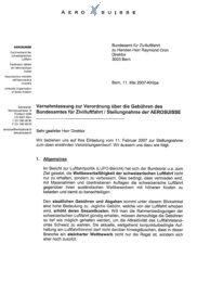 Verordnung über die Gebühren des Bundesamtes für ... - Aerosuisse