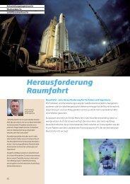 Broschüre «Raumfahrt - Aerosuisse