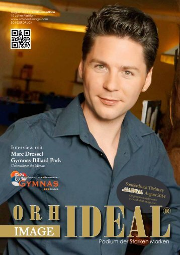 Orhideal IMAGE Magazin - August 2014