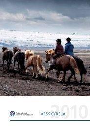 Ársskýrsla Ferðamálastofu 2010 - Ferðamálastofa