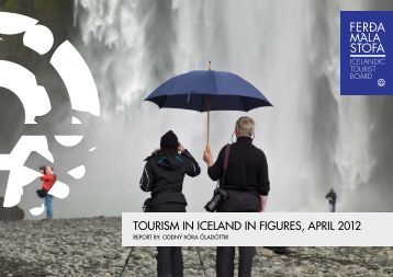 tourism in iceland in figures, april 2012
