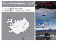 Styrkir til skipulags, uppbyggingar og úrbóta - Ferðamálastofa
