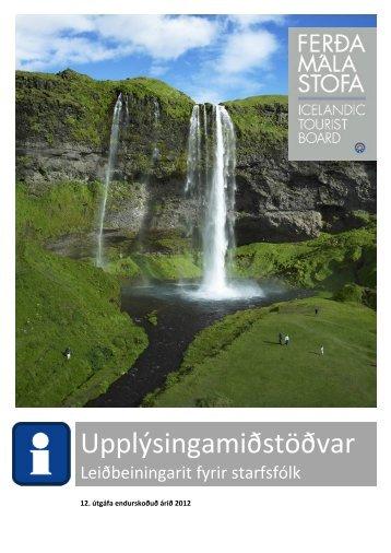 Upplýsingamiðstöðvar - Ferðamálastofa