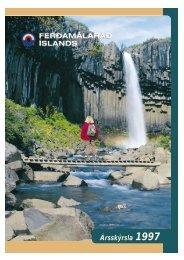 Ársskýrsla Ferðamálaráðs 1997
