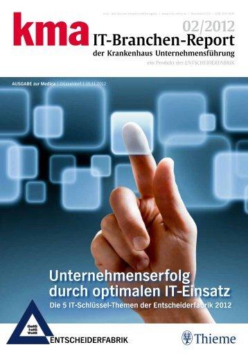 kma IT-BranchenReport Medica - GUIG