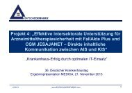 """Projekt 4: """"Effektive intersektorale Unterstützung für ... - GUIG"""