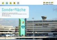 Sonderfläche, Kreisverkehr zentrale Ein - Köln/Bonn