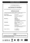 USER MANUAL M-130 PLUS MULTI - Free - Page 2