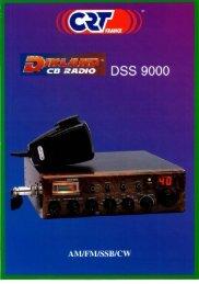 Page 1 DSS 9000 _im 't c à cs RADIO Liv. AM/FMÍSSBÍCW Page 2 i ...