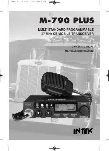 Man. M-790 PLUS - CB forumas