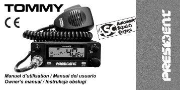Manuel d'utilisation / Manual del usuario Owner's manual / Instrukcja ...