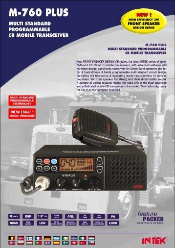 Depliant M-760 PLUS