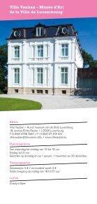 Musea en Tentoonstellingen in Luxemburg 2013 - Statermuseeen.lu ... - Page 4