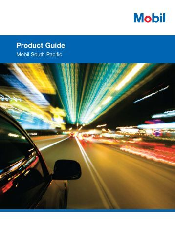Product Guide - Mobil