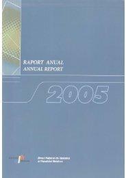 2005 - Biroul Naţional de Statistică